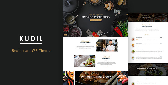 Kudil | Restaurant WordPress Theme - Food Retail