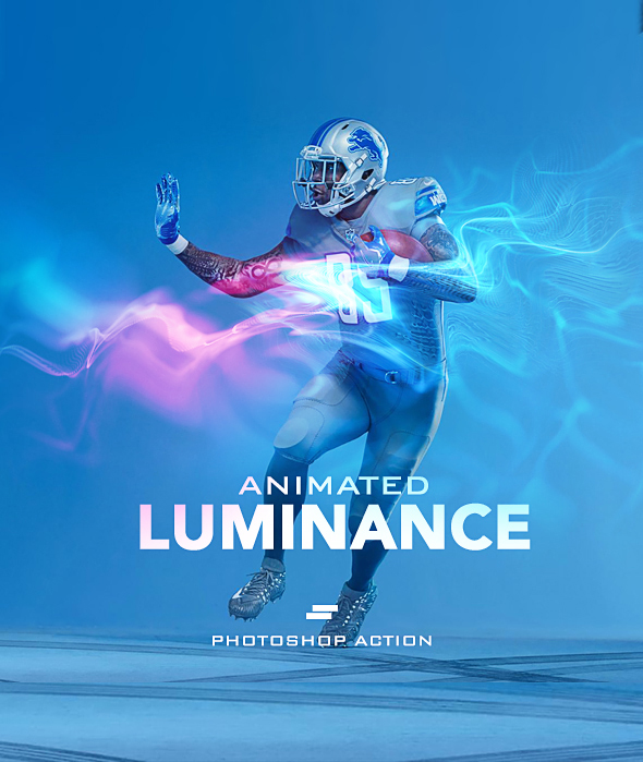 Gif Animated Luminance Photoshop Action - Photo Effects Actions