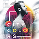 City Colors Party Flyer - GraphicRiver Item for Sale