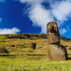 Moais on Easter Island, Chile - PhotoDune Item for Sale