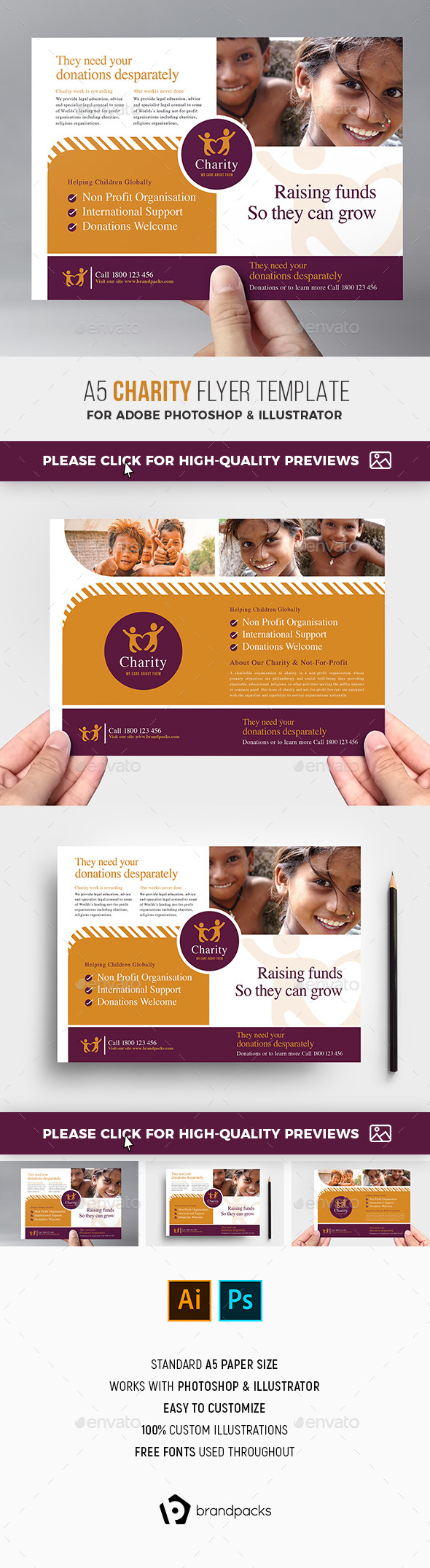 Charity Flyer Template - Corporate Flyers