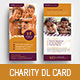 Charity DL Rack Card Template