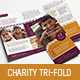 Charity Trifold Brochure Template - GraphicRiver Item for Sale