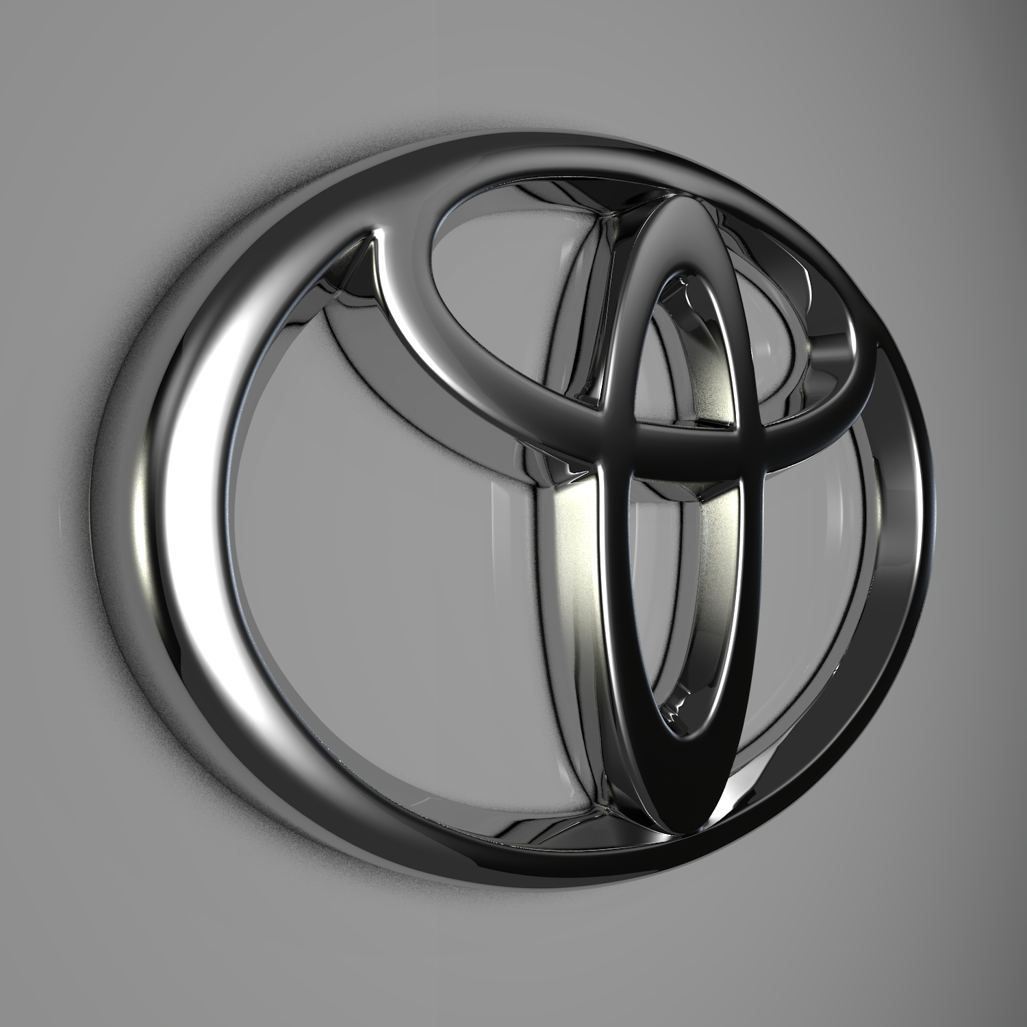 Toyota Logo By Reticulum 3docean