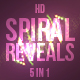 Spiral Light Streaks - VideoHive Item for Sale