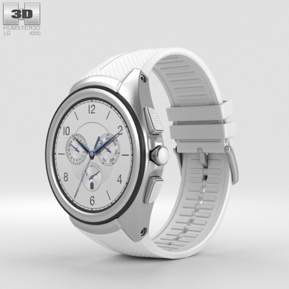 LG Watch Urbane 2nd Edition Luxe White