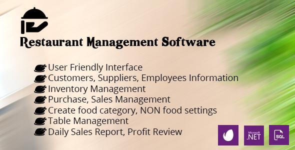 Restaurant Management System - CodeCanyon Item for Sale