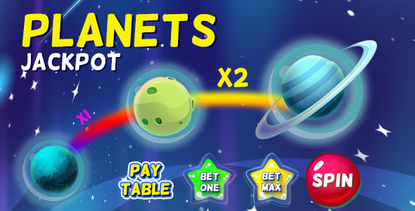 Planets Jackpot - CodeCanyon Item for Sale