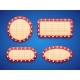 Retro Cinema or Theater Lights Marquee Banner