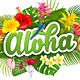 Aloha Summer Holidays - GraphicRiver Item for Sale