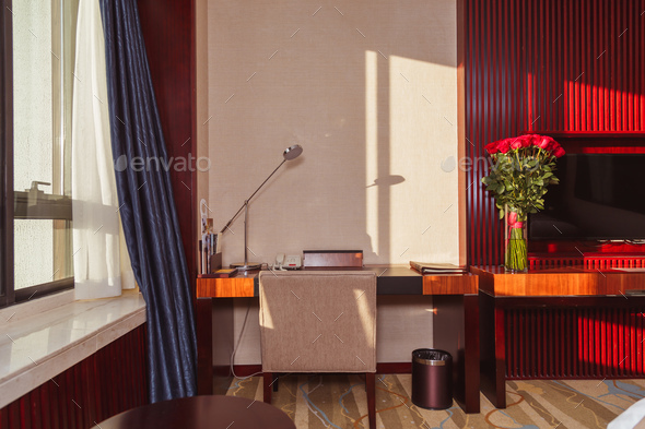 Interior of hotel room - Stock Photo - Images