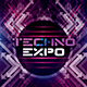 Techno Expo Photoshop Flyer/Poster Template - GraphicRiver Item for Sale