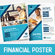 Financial Advisor Poster Templates - GraphicRiver Item for Sale