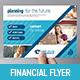Financial Advisor Flyer Template