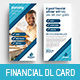 Financial Advisor DL Rack Card Template - GraphicRiver Item for Sale