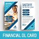 Financial Advisor DL Rack Card Template