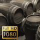Wooden Barrels 01 - VideoHive Item for Sale