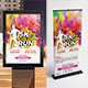 Color Run Event Signage Bundle