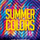Summer Colors Party Flyer - GraphicRiver Item for Sale