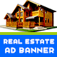 Real Estate Ad Banner - AR