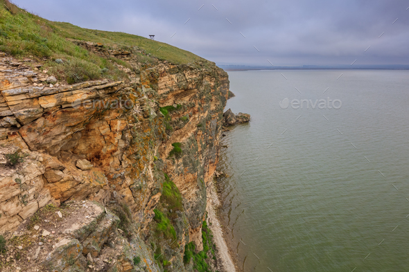 Dolosman Cape, Tulcea county, Romania. - Stock Photo - Images
