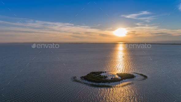Ceaplace island, Romania - Stock Photo - Images