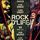 Rock the Life Event Flyer - GraphicRiver Item for Sale