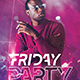 Friday Party Party Flyer - GraphicRiver Item for Sale
