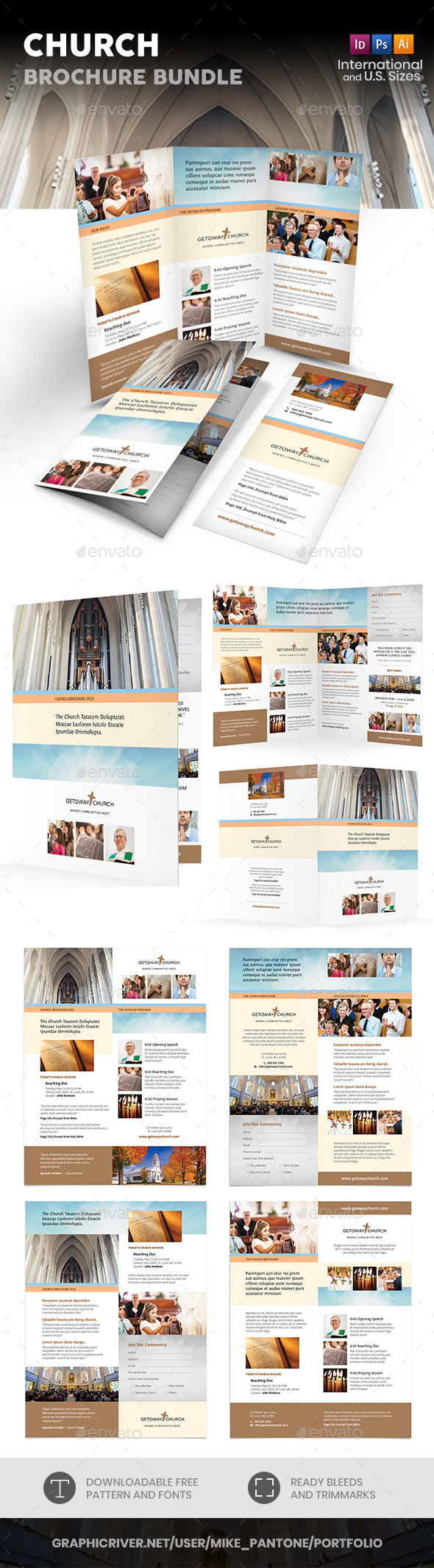 Church Print Bundle 2 - Informational Brochures