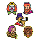 Circus Performers and Freaks Mascot Collection - GraphicRiver Item for Sale