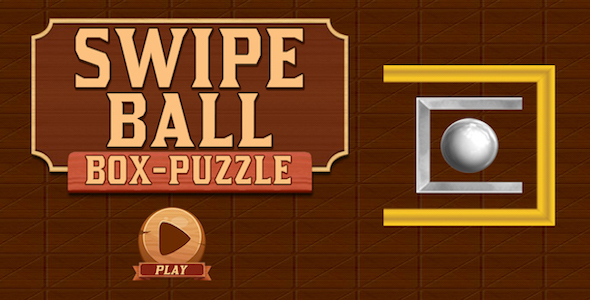 Swipe Ball Box Puzzle Game For Kids + Brain Game + IOS            Nulled