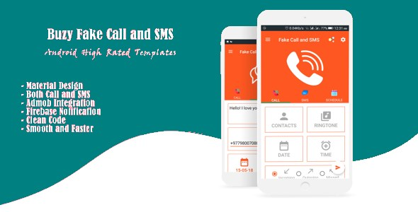 Buzy Fake Call and SMS Free Download | Nulled