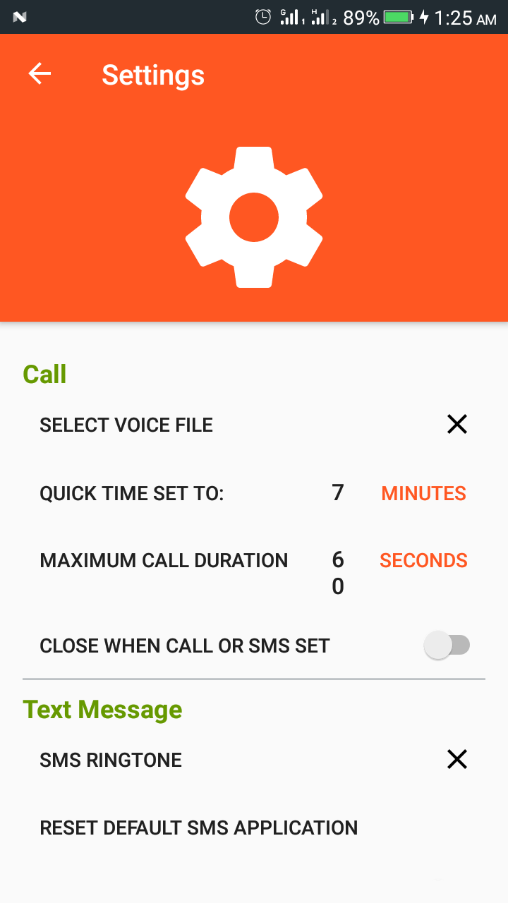 Buzy Fake Call and SMS | Android Studio Project | Admob Ads | Beautiful UI  | Material Design