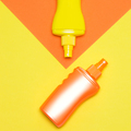 Minimalistic summer concept with sunscreen products bottles - PhotoDune Item for Sale