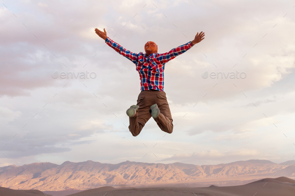 Jumping boy - Stock Photo - Images