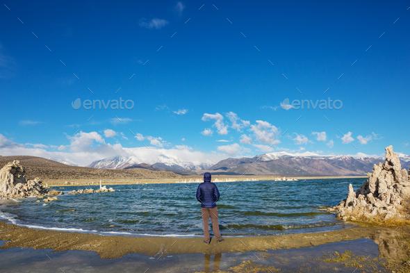 Mono lake - Stock Photo - Images