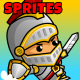 Knight Adventure 2D Game Characters Sprites - GraphicRiver Item for Sale
