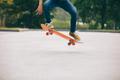 Skateboarder doing a trick ollie - PhotoDune Item for Sale