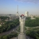 Drone Video of Mother Motherland Monument in Kiev, Ukraine - VideoHive Item for Sale