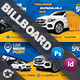 Car Wash Billboard Templates - GraphicRiver Item for Sale