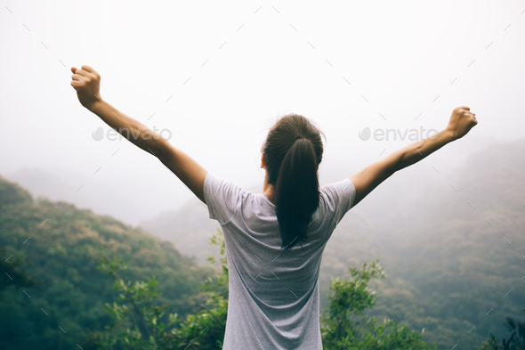 Freedom in the nature - Stock Photo - Images