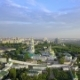 Aerial View of Kiev-Pechersk Lavra Ukrainian Orthodox Monastery - VideoHive Item for Sale