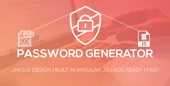 Password Generator Script            Nulled