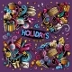 Colorful Set of Holidays Object - GraphicRiver Item for Sale