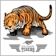 Tiger Attack - Sport Mascot Style - GraphicRiver Item for Sale