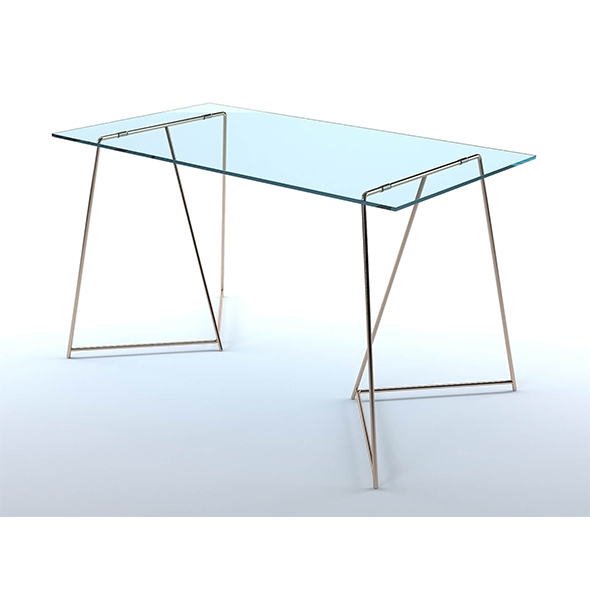Patrizia glass table - 3DOcean Item for Sale