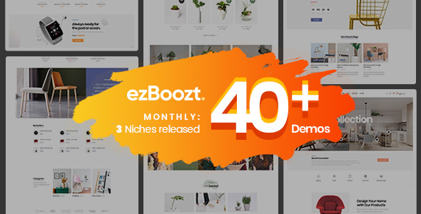 ezBoozt – All-in-one WooCommerce WordPress Theme