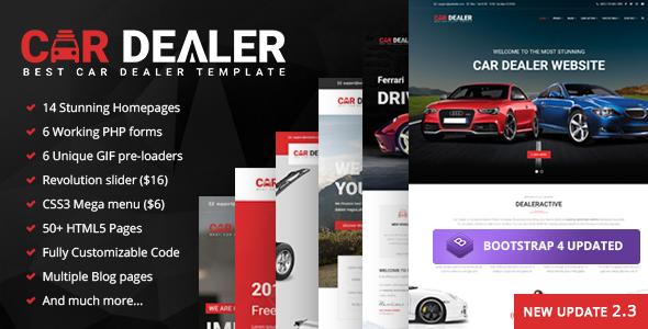 Car Dealer - The Best Car Dealer Automotive Responsive HTML5 Template