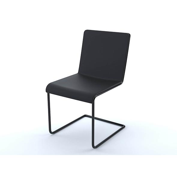 Black design chair - 3DOcean Item for Sale