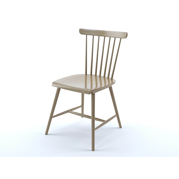 Deauville chair - 3DOcean Item for Sale